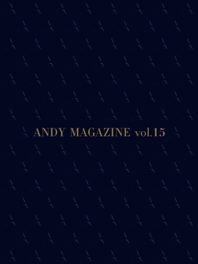 ANDY MAGAZINE Vol15